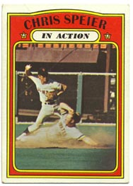 1972 Topps Baseball Cards      166     Chris Speier IA